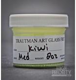 Trautman Art Glass TAG Frit Kiwi 2oz Medium