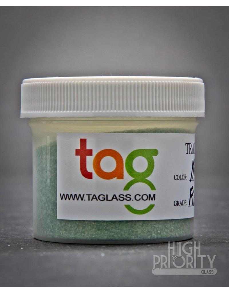 Trautman Art Glass TAG Frit Mighty Moss 2oz Fine