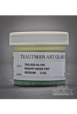 Trautman Art Glass TAG Frit Mighty Moss 2oz Medium