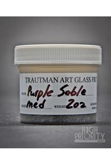 Trautman Art Glass TAG Frit Purple Sable 2oz Medium