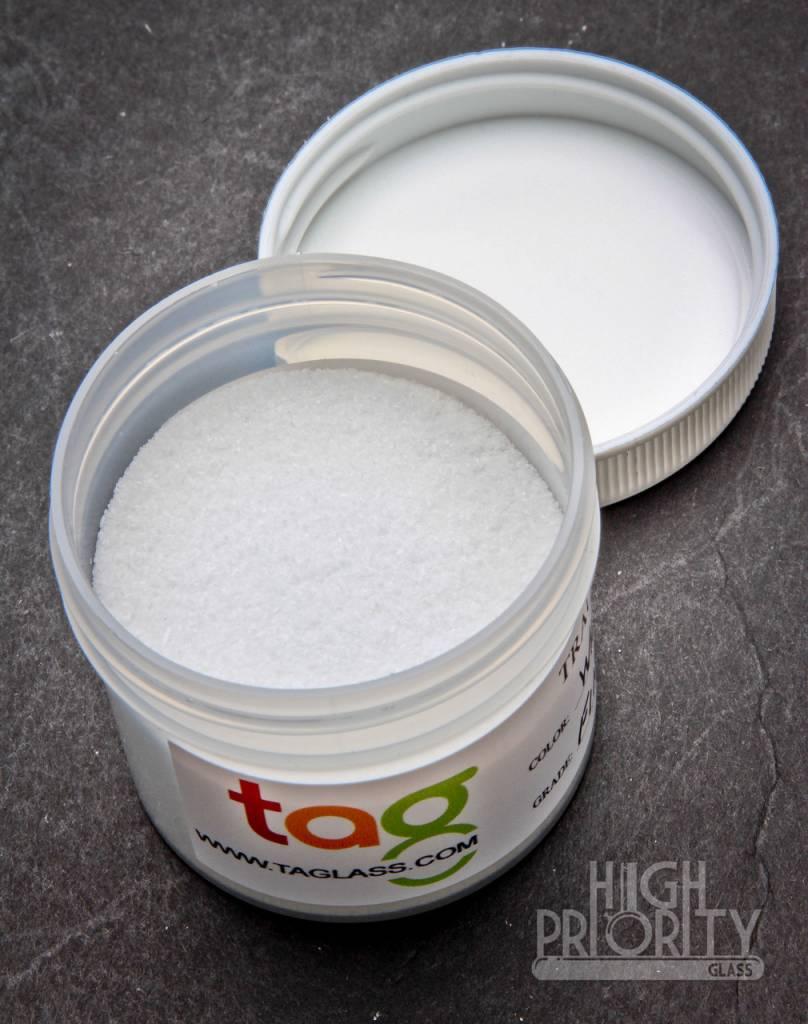 Trautman Art Glass TAG Frit Whiteout 2oz Fine