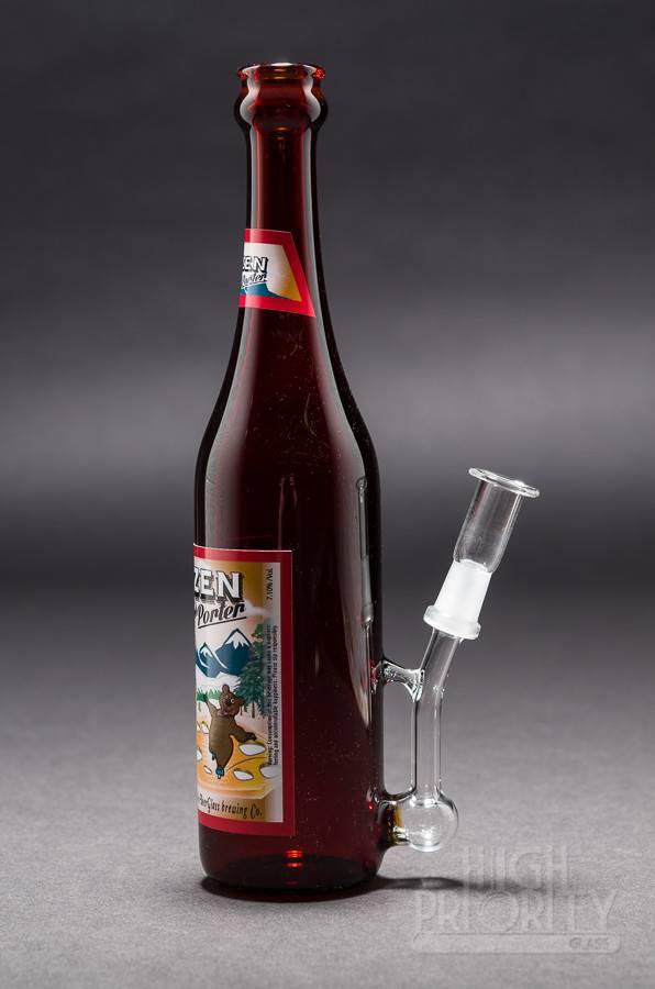 """Beer Glass Beer Glass """"Frozen Sap Porter"""" Bottle Tube #41/99"""