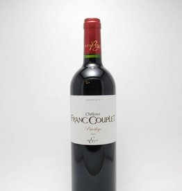 Château Franc Couplet Bordeaux Cuvée Privilege 2015