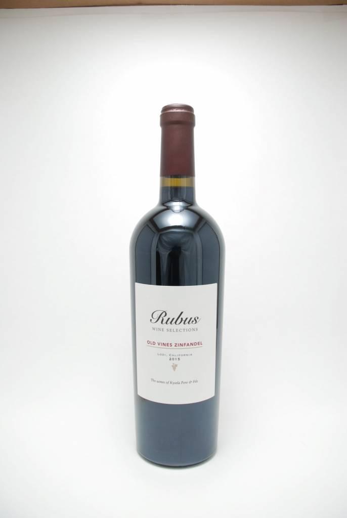 Rubus Lodi Old Vine Zinfandel 2015