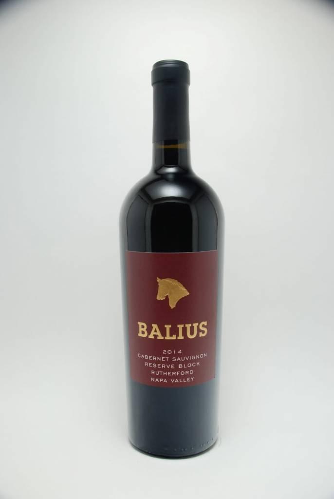 Balius Reserve Block Cabernet Sauvignon 2014