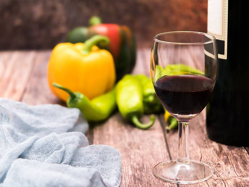Why Does My Wine Taste Like Vegetables?