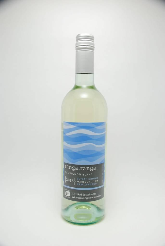 Barker's Marque Wines Ranga Ranga Sauvignon Blanc 2016