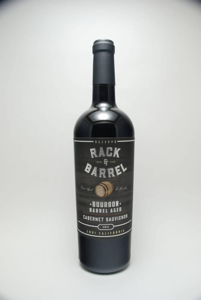 Rack & Barrel Bourbon Barrel Aged Reserve Cabernet Sauvignon 2016