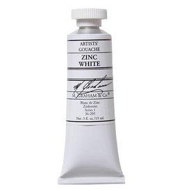 M GRAHAM M GRAHAM GOUACHE ZINC WHITE 15ML