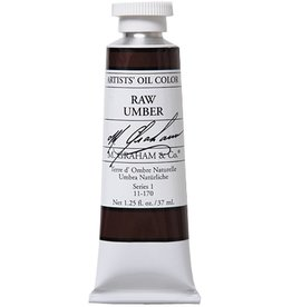 M GRAHAM M GRAHAM OIL RAW UMBER 37ML