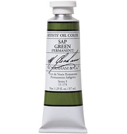 M GRAHAM M GRAHAM OIL SAP GREEN PERMANENT 37ML