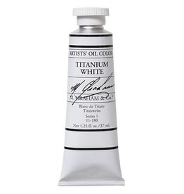 M GRAHAM M GRAHAM OIL TITANIUM WHITE 37ML