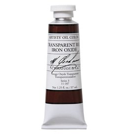 M GRAHAM M GRAHAM OIL TRANSAPRENT RED IRON OXIDE 37ML