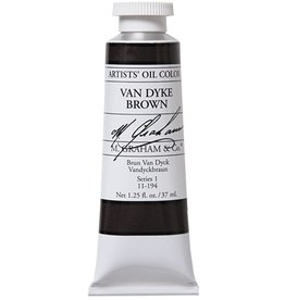M GRAHAM M GRAHAM OIL VANDYKE BROWN 37ML