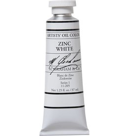 M GRAHAM M GRAHAM OIL ZINC WHITE 37ML