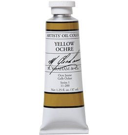 M GRAHAM M GRAHAM OIL YELLOW OCHRE 5OZ
