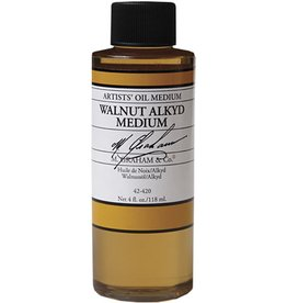 M GRAHAM M GRAHAM WALNUT ALKYD OIL MEDIUM 4OZ