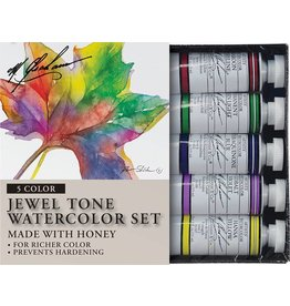 M GRAHAM M GRAHAM WATERCOLOUR SET/5 JEWEL TONE