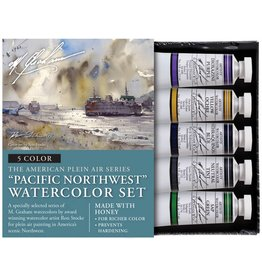 M GRAHAM M GRAHAM WATERCOLOUR SET/5 PACIFIC NORTHWEST