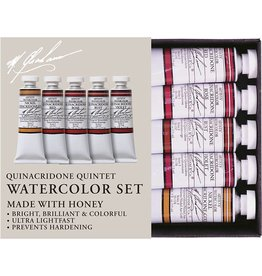 M GRAHAM M GRAHAM WATERCOLOUR SET/5 QUINACRIDONE