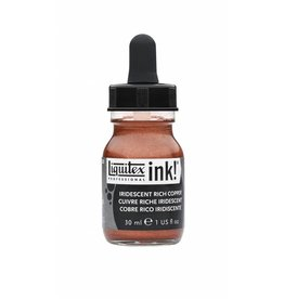 LIQUITEX LIQUITEX ACRYLIC INK IRIDESCENT RICH COPPER 30ML