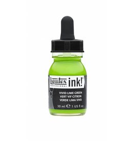 LIQUITEX LIQUITEX ACRYLIC INK VIVID LIME GREEN 30ML