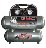 CALIFORNIA AIR TOOLS GMC SYCLONE 4610A COMPRESSOR W/ ALUMINIUM  TANKS