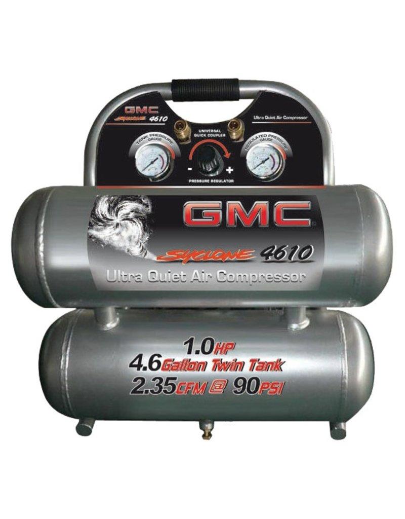 CALIFORNIA AIR TOOLS GMC SYCLONE 4610A COMPRESSOR W/ ALUMINIUM  TANKS