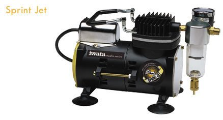 IWATA IWATA SPRINT JET COMPRESSOR      IS800