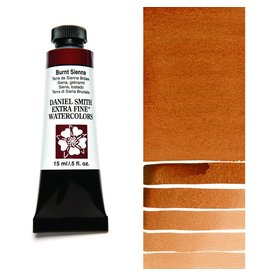 DANIEL SMITH DANIEL SMITH EXTRA FINE WATERCOLOUR BURNT SIENNA 15ML