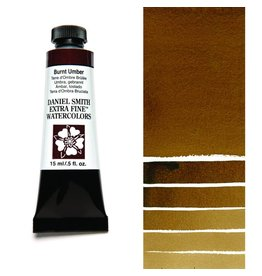 DANIEL SMITH DANIEL SMITH EXTRA FINE WATERCOLOUR BURNT UMBER 15ML