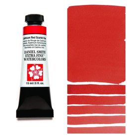 DANIEL SMITH DANIEL SMITH EXTRA FINE WATERCOLOUR CADMIUM RED SCARLET HUE 15ML