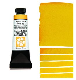 DANIEL SMITH DANIEL SMITH EXTRA FINE WATERCOLOUR CADMIUM YELLOW DEEP HUE 15ML