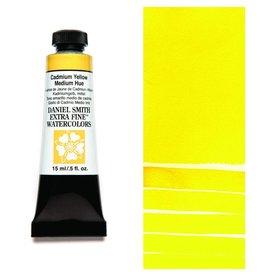 DANIEL SMITH DANIEL SMITH EXTRA FINE WATERCOLOUR CADMIUM YELLOW MEDIUM HUE 15ML