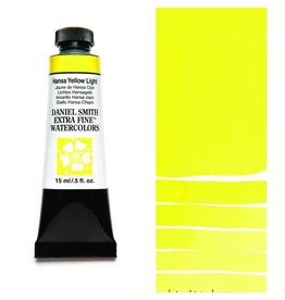 DANIEL SMITH DANIEL SMITH EXTRA FINE WATERCOLOUR HANSA YELLOW LIGHT 15ML