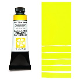 DANIEL SMITH DANIEL SMITH EXTRA FINE WATERCOLOUR HANSA YELLOW MEDIUM 15ML