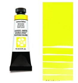 DANIEL SMITH DANIEL SMITH EXTRA FINE WATERCOLOUR LEMON YELLOW 15ML