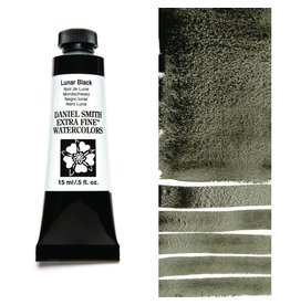 DANIEL SMITH DANIEL SMITH EXTRA FINE WATERCOLOUR LUNAR BLACK 15ML