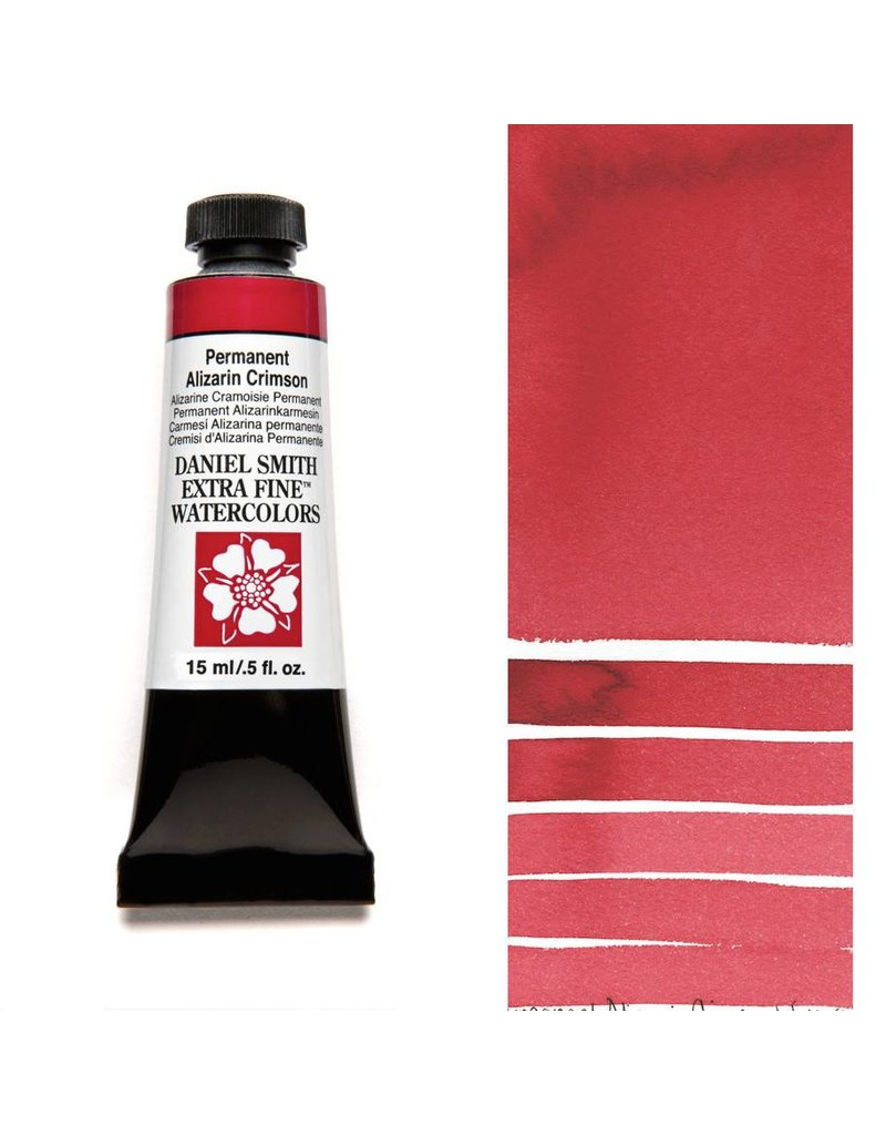 DANIEL SMITH DANIEL SMITH EXTRA FINE WATERCOLOUR PERMANENT ALIZARIN CRIMSON 15ML