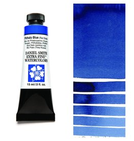 DANIEL SMITH DANIEL SMITH EXTRA FINE WATERCOLOUR PHTHALO BLUE (RED SHADE) 15ML