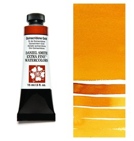 DANIEL SMITH DANIEL SMITH EXTRA FINE WATERCOLOUR QUINACRIDONE GOLD 15ML