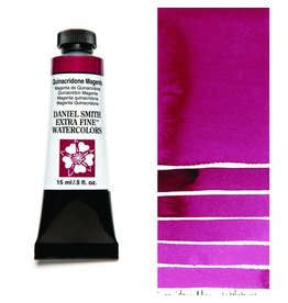 DANIEL SMITH DANIEL SMITH EXTRA FINE WATERCOLOUR QUINACRIDONE MAGENTA 15ML
