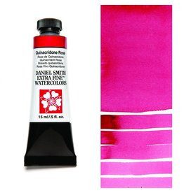 DANIEL SMITH DANIEL SMITH EXTRA FINE WATERCOLOUR QUINACRIDONE ROSE 15ML