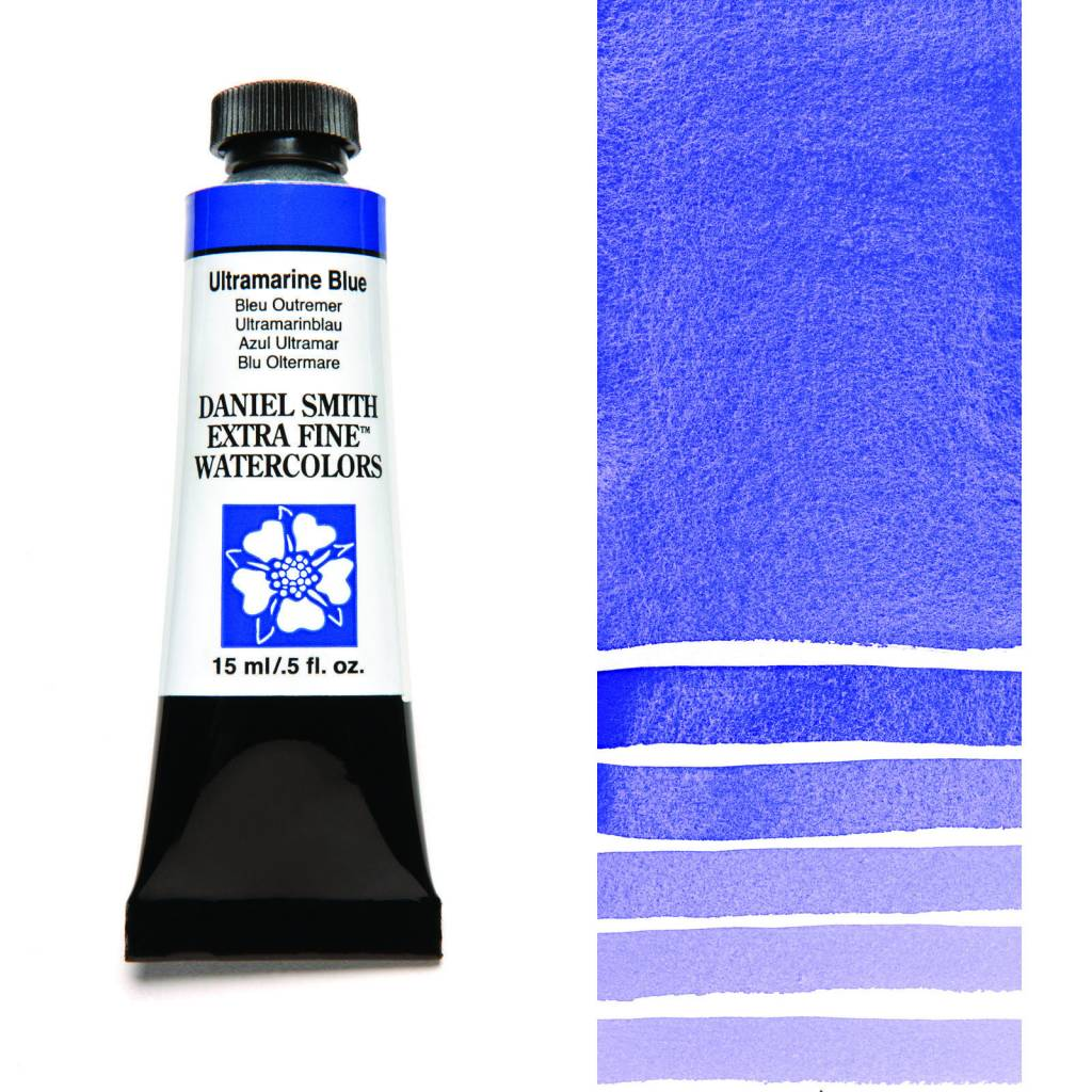 DANIEL SMITH DANIEL SMITH EXTRA FINE WATERCOLOUR ULTRAMARINE BLUE 15ML