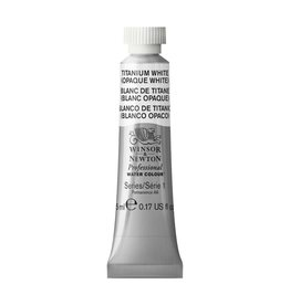 WINSOR NEWTON WINSOR & NEWTON PROFESSIONAL WATERCOLOUR TITANIUM WHITE 5ML