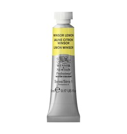 WINSOR NEWTON WINSOR & NEWTON PROFESSIONAL WATERCOLOUR WINSOR LEMON 5ML