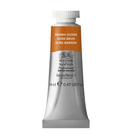 WINSOR NEWTON WINSOR & NEWTON PROFESSIONAL WATERCOLOUR BROWN OCHRE 14ML