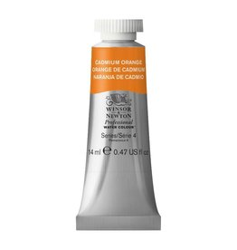 WINSOR NEWTON WINSOR & NEWTON PROFESSIONAL WATERCOLOUR CADMIUM ORANGE 14ML