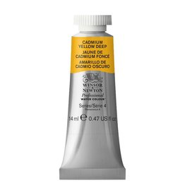 WINSOR NEWTON WINSOR & NEWTON PROFESSIONAL WATERCOLOUR CADMIUM YELLOW DEEP 14ML