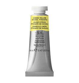 WINSOR NEWTON WINSOR & NEWTON PROFESSIONAL WATERCOLOUR LEMON YELLOW HUE 14ML